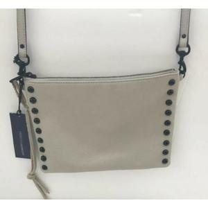 NEW Rebecca Minkoff Tan Pebble Leather Crossbody